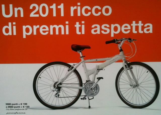 Bicicletta Pieghevole Pininfarina 26.Raccolte Punti Lotterie Premi Pieghevoli
